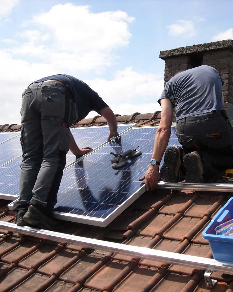 Instaladores de energía fotovoltaica