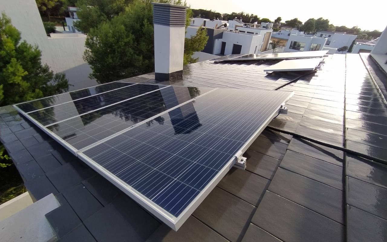 Paneles solares Vivienda particular